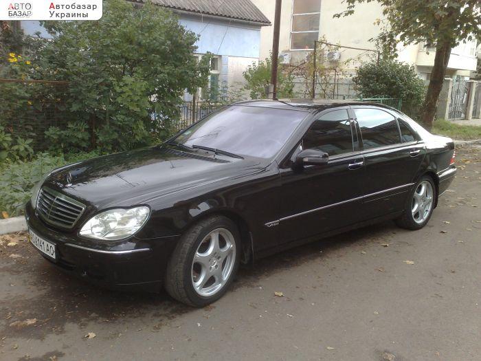 автобазар украины - Продажа 2001 г.в.  Mercedes S 600  LONG