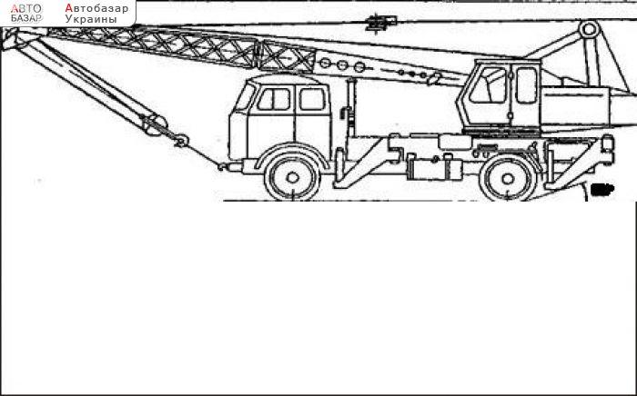 Автокран ККС-10 СМК 101