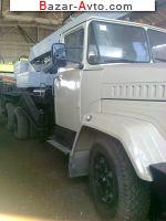 автобазар украины - Продажа 1996 г.в.  Автокран КС 3575 А-1 Автокран КС - 3575 - А1 на базе Краза 250 телескоп