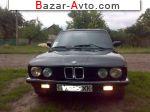 1987 BMW 5 Series E28