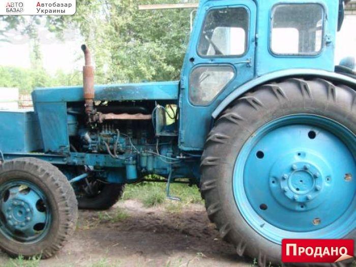 Полный привод на самодельный трактор 106