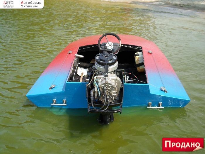 мотоцикл с прицепом для лодки
