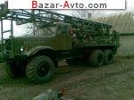 1990 КРАЗ 255 Буровая установка ПБУ 200 на базе Краза 255 конверсия