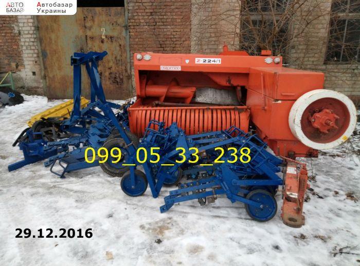 автобазар украины - Продажа 2015 г.в.  Трактор МТЗ SIMPA Z-224/1 б/у Пресс-подборщик тюковый