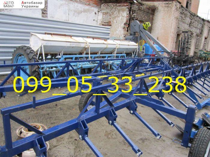 автобазар украины - Продажа 2016 г.в.  Трактор МТЗ Сцепка борон полунавесная на 8 тяжелых зубовых бор