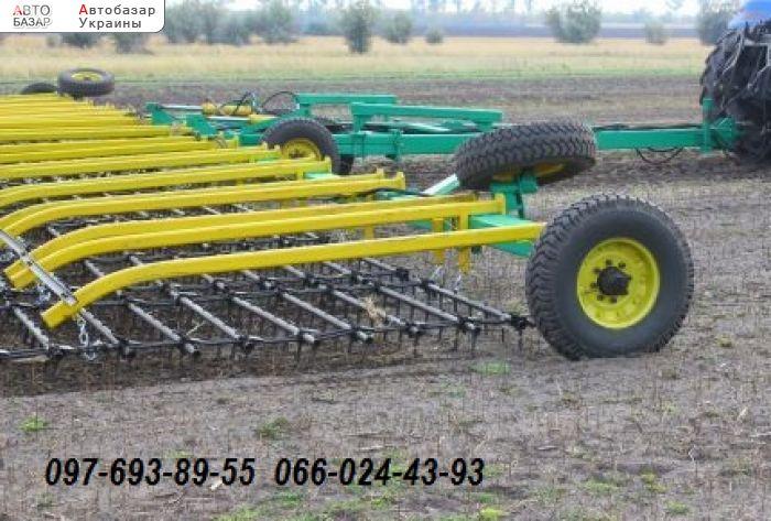 автобазар украины - Продажа    Борона зубовая шлейфная БШН-7
