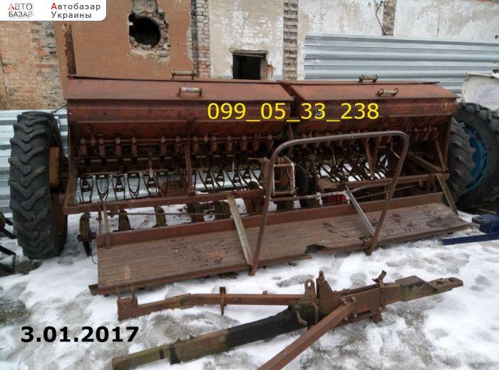 автобазар украины - Продажа 1990 г.в.  Трактор МТЗ сеялка сз 3.6 б/у состояние отличное