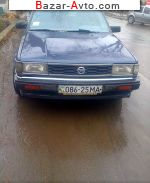 автобазар украины - Продажа 1986 г.в.  Nissan Bluebird