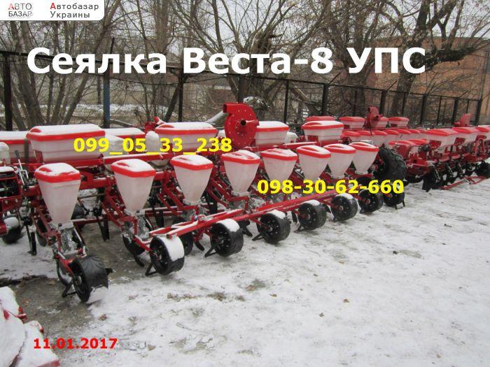 автобазар украины - Продажа 2017 г.в.  Трактор МТЗ сеялки Веста 8 / УПС-8-02 , заводская