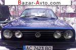 автобазар украины - Продажа 1989 г.в.  Volkswagen Golf 2