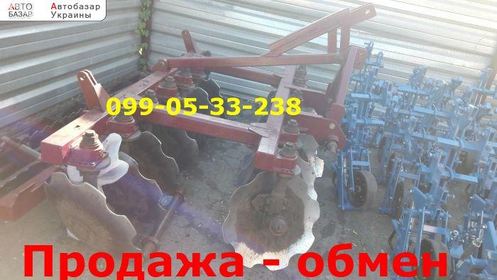 автобазар украины - Продажа 2016 г.в.  Трактор МТЗ борона ПД-2,5 б.у продам Велес