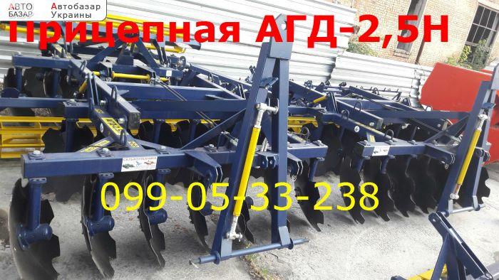автобазар украины - Продажа 2017 г.в.  Трактор МТЗ АГД-2.5Н прицепная борона Агро