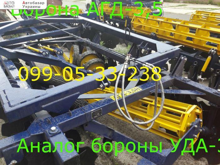 автобазар украины - Продажа 2017 г.в.    Борона АГД-3,5Н как УДА-3,8Н п