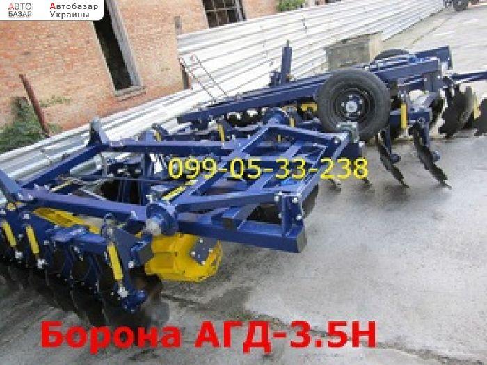 автобазар украины - Продажа 2017 г.в.  Трактор МТЗ АГД-3.5Н борона прицепная таже