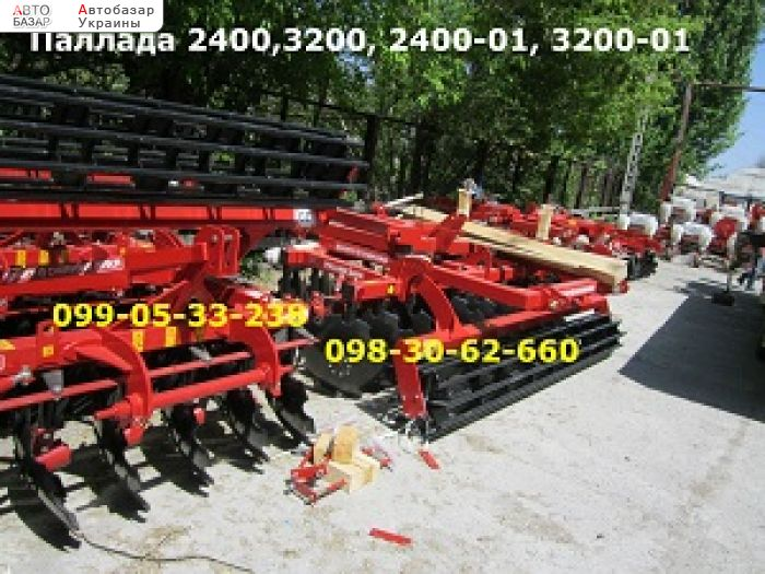 автобазар украины - Продажа 2017 г.в.  Трактор МТЗ Борона Паллада 2400,3200, 2400