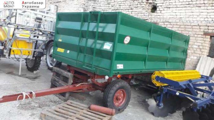 автобазар украины - Продажа 2016 г.в.  Трактор МТЗ прицеп тракторный 2ПТС-4 (как