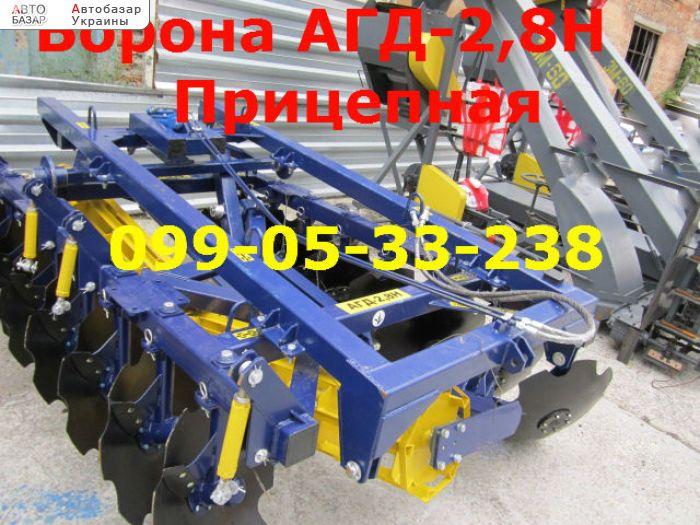 автобазар украины - Продажа 2017 г.в.  Трактор МТЗ АГД 2,8н Прицепная новая борон