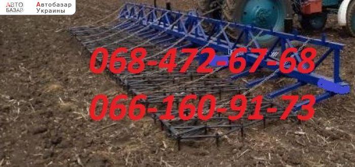 автобазар украины - Продажа 2018 г.в.  Трактор МТЗ Сзб - 8 метровая.Сцепка зубовы