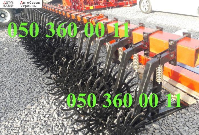 автобазар украины - Продажа    Борона мотыга 6 метров+секции