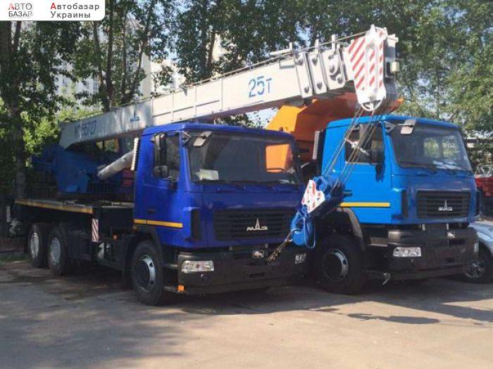 автобазар украины - Продажа 2018 г.в.  Автокран  КС-55727-С-12 Машека 25 тонн