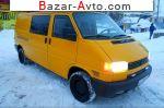 автобазар украины - Продажа 2001 г.в.  Volkswagen Transporter T4 LONG