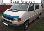 автобазар украины - Продажа 2000 г.в.  Volkswagen Transporter 1.9 TD L MT (68 л.с.)