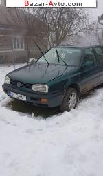 автобазар украины - Продажа 1996 г.в.  Volkswagen Golf 1.6 MT (75 л.с.)