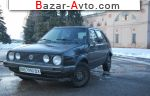 1985 Volkswagen Golf 1.6 D 5МТ (54 л.с.)  автобазар