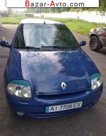 2001 Renault Clio 1.4 MT (98 л.с.)  автобазар
