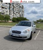 2008 Hyundai Accent 1.4 AT (97 л.с.)  автобазар