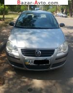 2007 Volkswagen Polo 1.4 MT (80 л.с.)  автобазар
