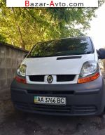 2003 Renault Trafic 1.9 dCi MT (100 л.с.)  автобазар