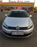 2010 Volkswagen Golf 1.6 TDI BlueMotion DSG (105 л.с.)  автобазар