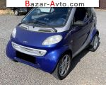 Smart Fortwo 0.6 AT (70 л.с.) 2001, 3300 $