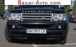 2007 Land Rover Range Rover Sport 4.2 AT (390 л.с.)  автобазар