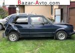 автобазар украины - Продажа 1984 г.в.  Volkswagen Golf 1.6 MT (75 л.с.)