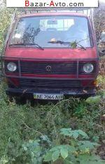 автобазар украины - Продажа 1986 г.в.  Volkswagen Transporter 1.6 D MT (50 л.с.)