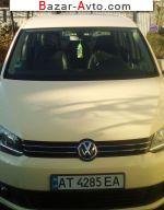 автобазар украины - Продажа 2013 г.в.  Volkswagen Touran 1.6 TDI АТ (105 л.с.)