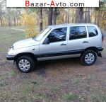2008 Chevrolet Niva 1.7 MT (80 л.с.)  автобазар
