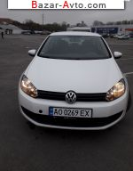 2010 Volkswagen Golf 1.4 MT (80 л.с.)  автобазар