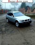 автобазар украины - Продажа 2005 г.в.  BMW X3 2.0d MT (150 л.с.)