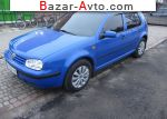 1998 Volkswagen Golf 1.4 MT (75 л.с.)  автобазар