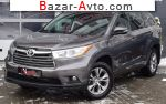 2016 Toyota Highlander 3.5 AT AWD (249 л.с.)  автобазар