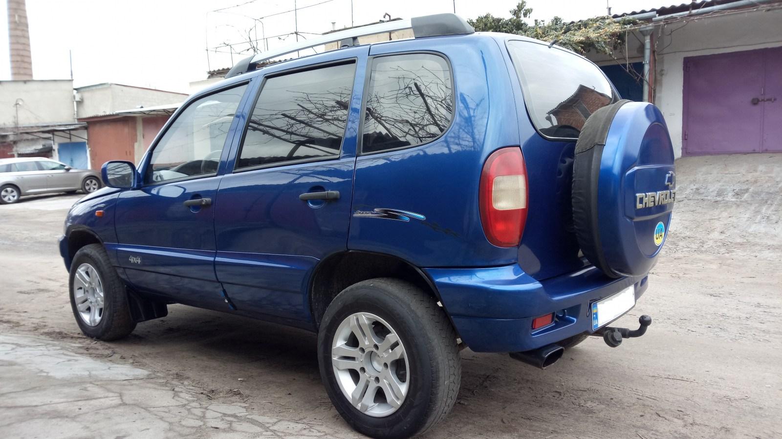 автобазар украины - Продажа 2005 г.в.  Chevrolet Niva