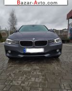 2012 BMW 3 Series 320d MT (184 л.с.)  автобазар