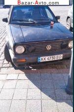 автобазар украины - Продажа 1990 г.в.  Volkswagen Golf 1.8 MT (90 л.с.)