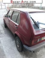 1978 Volkswagen Golf   автобазар