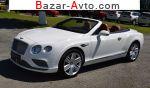 автобазар украины - Продажа 2017 г.в.  Bentley Continental GTC