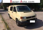 автобазар украины - Продажа 2000 г.в.  Volkswagen Transporter 2.5 TDI L MT (102 л.с.)