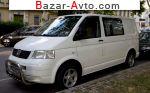 автобазар украины - Продажа 2008 г.в.  Volkswagen Transporter 1.9 TDI Kasten L MT (104 л.с.)